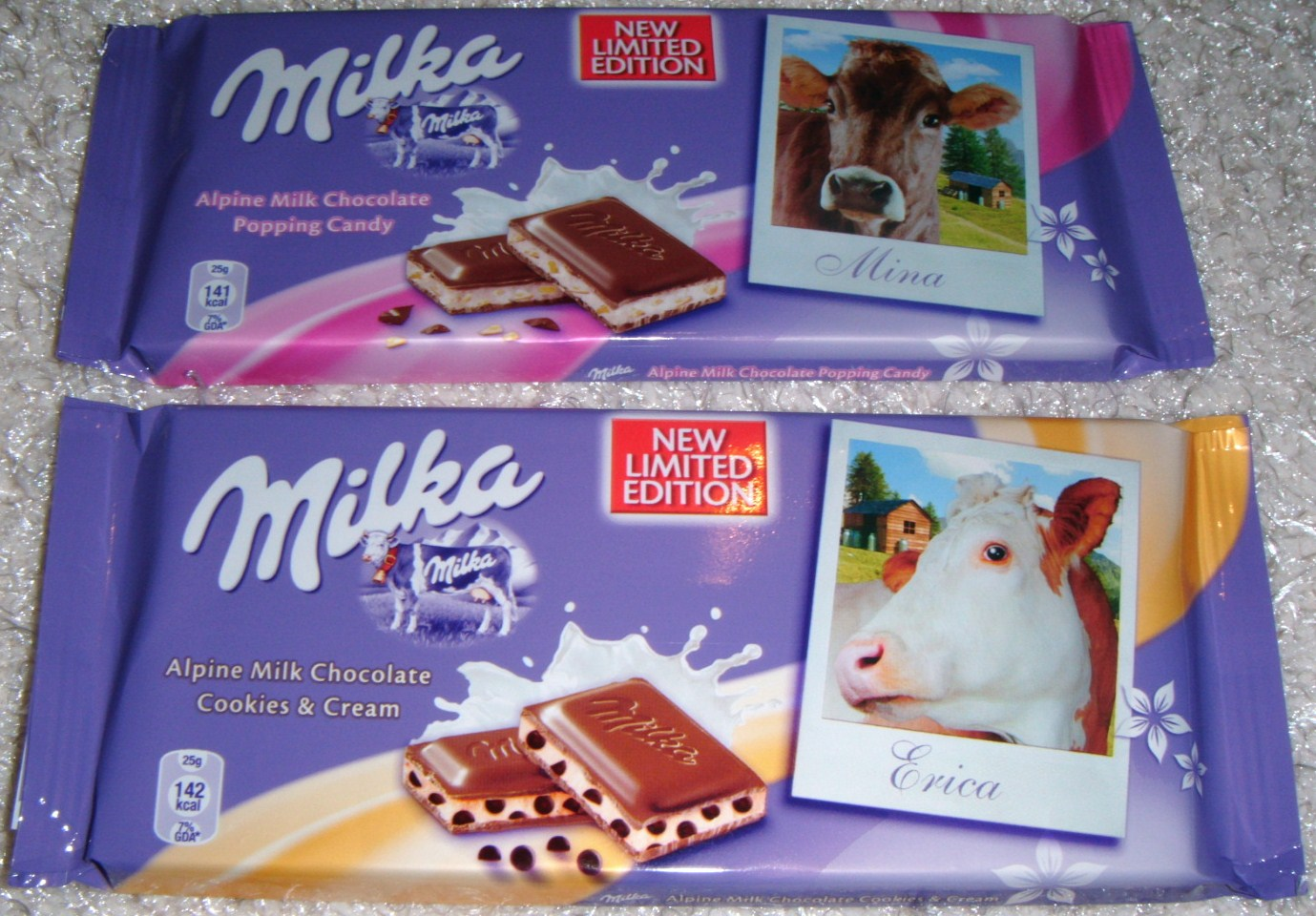 Foodstuff Finds New Uk Milka Bars Popping Candy And