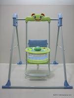 Baby Swing PLIKO PK606 with Musical Singing and Flashing