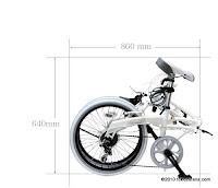 Sepeda Lipat DOPPELGANGER 206 Streak