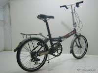 4 Sepeda Lipat FOLD-X INSTINCT 20 Inci