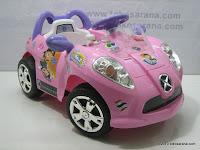 2 Mobil Mainan Aki PLIKO PK8818N CITY CHILDREN
