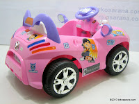 4 Mobil Mainan Aki PLIKO PK8818N CITY CHILDREN