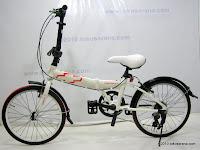 1 Sepeda Lipat CHEVROLET CHEVY 20 Inci