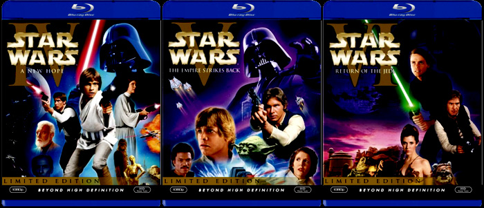Space1970 News Star Wars On Blu Ray In September