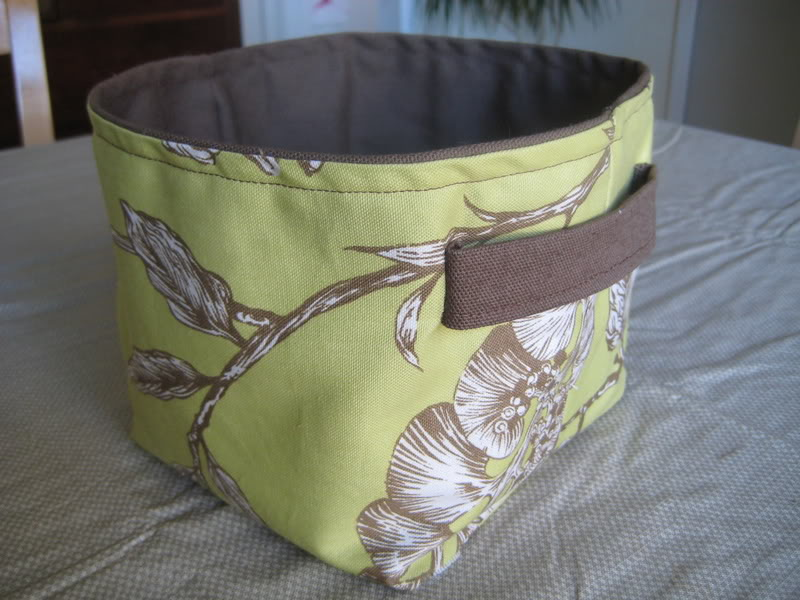 Fabric Basket, Bin, Bucket Tutorials (Sewing) | Content in a Cottage