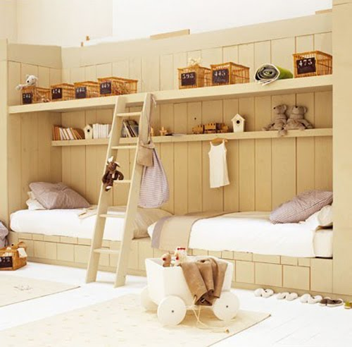 french children 39 s rooms content in a cottage. Black Bedroom Furniture Sets. Home Design Ideas