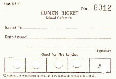 Free Meal Ticket Template