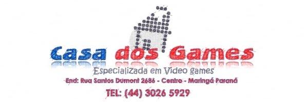 CASA DOS GAMES TUDO EM VIDEO GAMES - RUA SANTOS DUMONT 2686   MGÁ-PR -  TEL (44) ... 2e111a7dd2