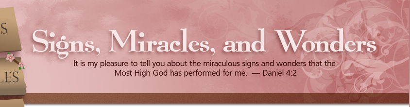 Signs, Miracles, and Wonders