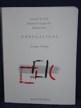 ONDULATIONS, (éd. Aeneis, 2009) trilingual artbook with poems