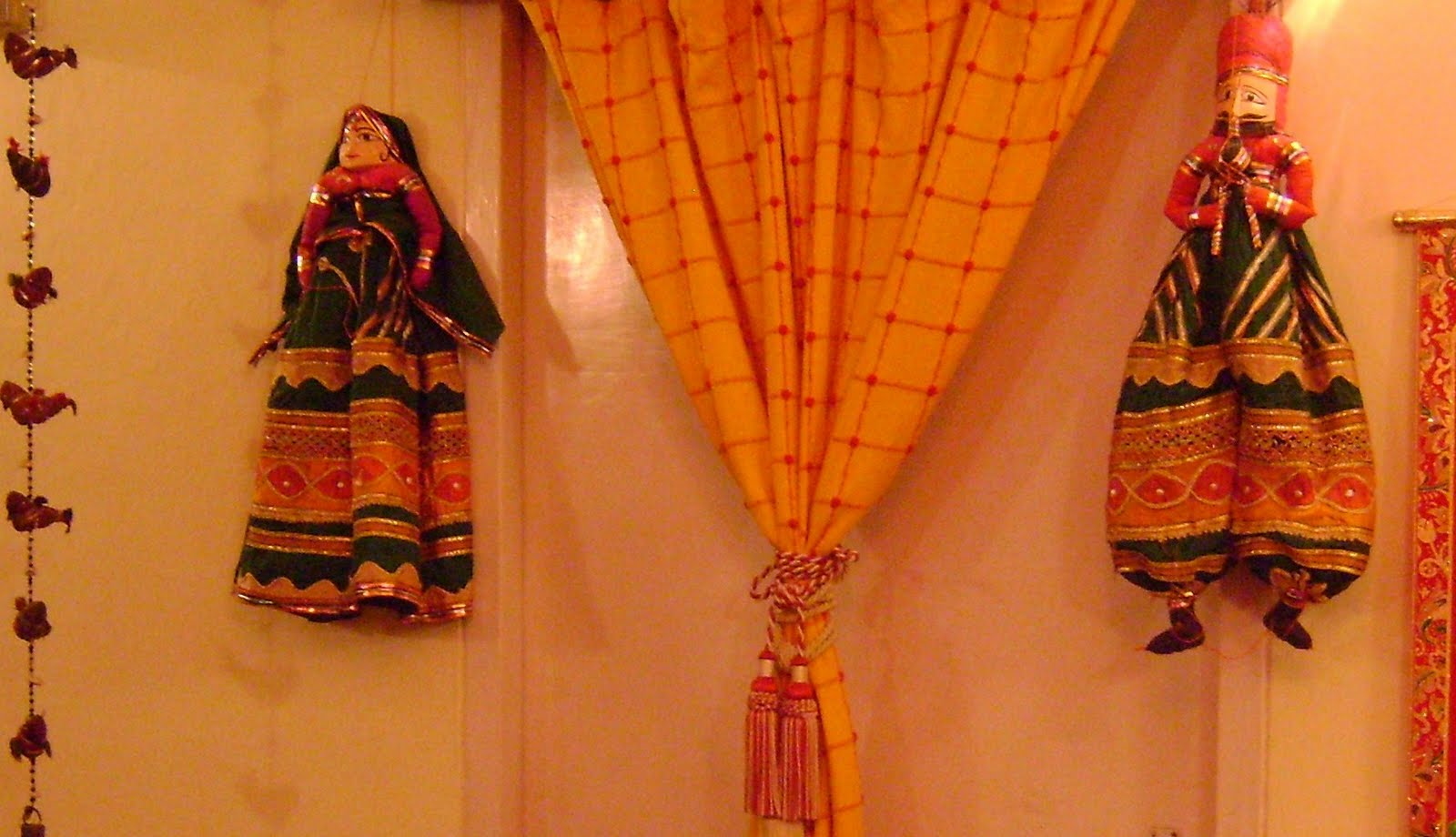 Indian Ethnic Decor For A Party Theme With Shawls Diy