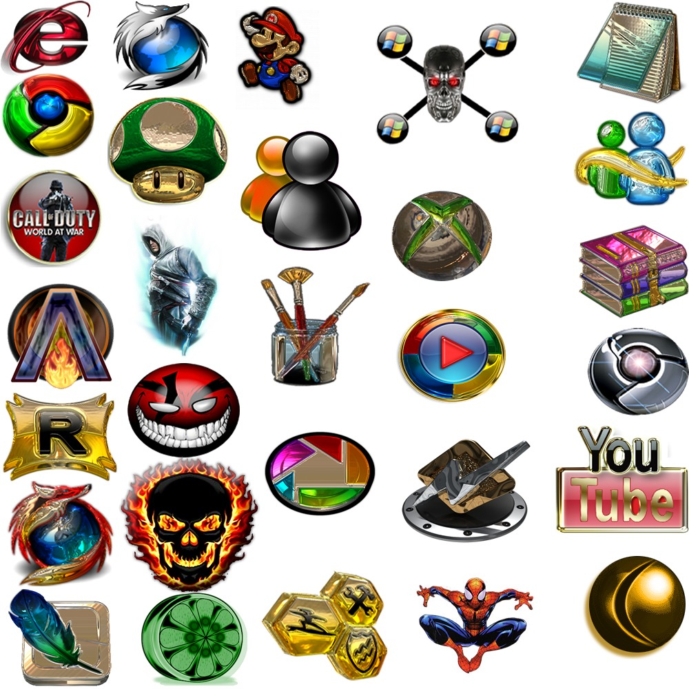 pack de iconos para rocketdock gratis