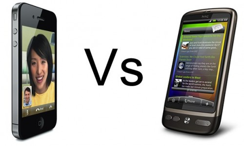 HTC Inspire 4G vs iPhone 4S Comparison of Specs and Features