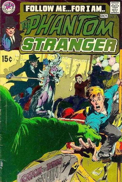 Phantom Stranger v2 #3 - 1960s dc horror comic book cover art by Neal Adams