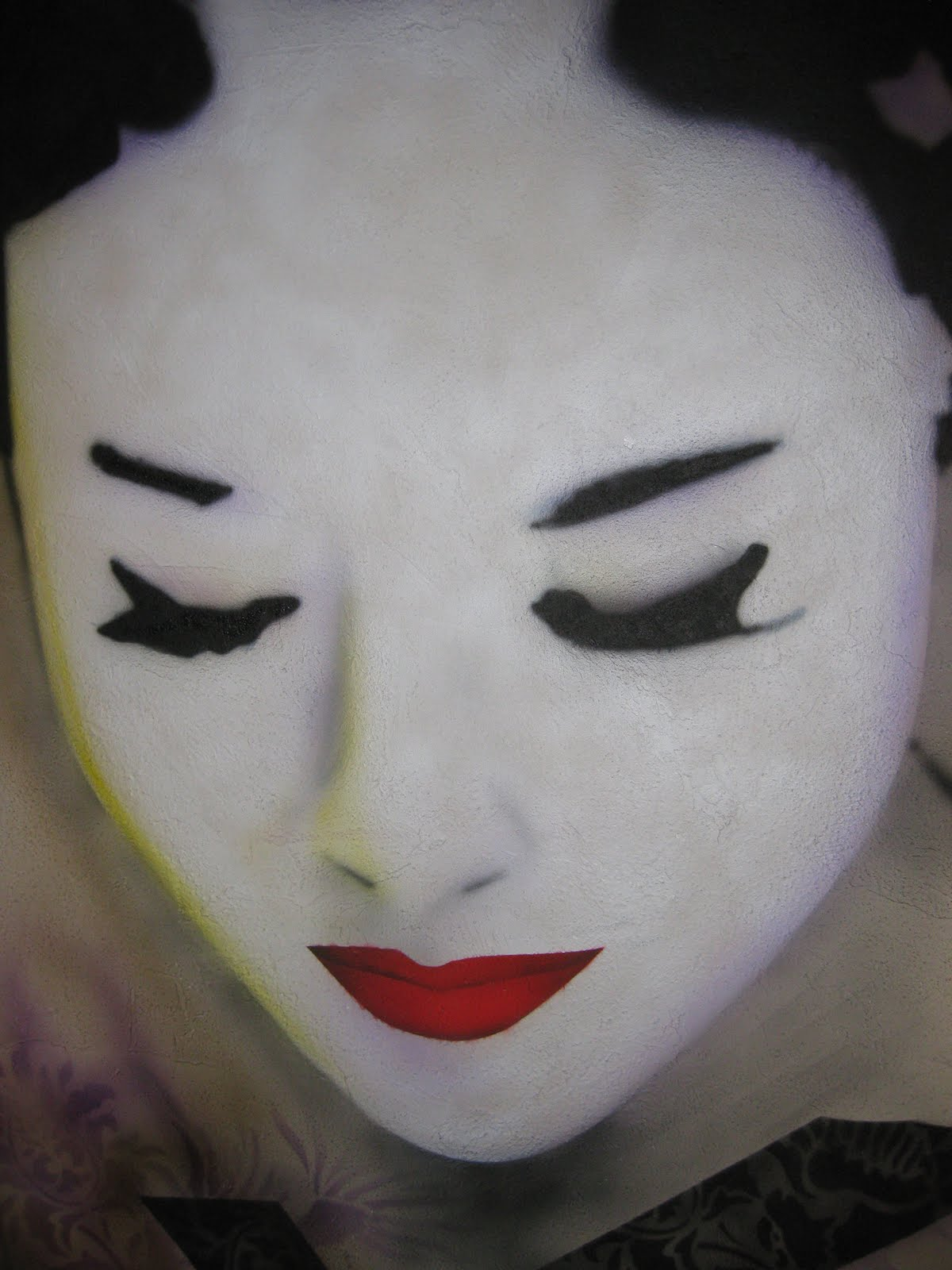 Finishing Acts Awesome Airbrush Class The Geisha
