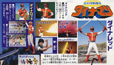 My Thoughts On Dynaman In 36 Episodes - build