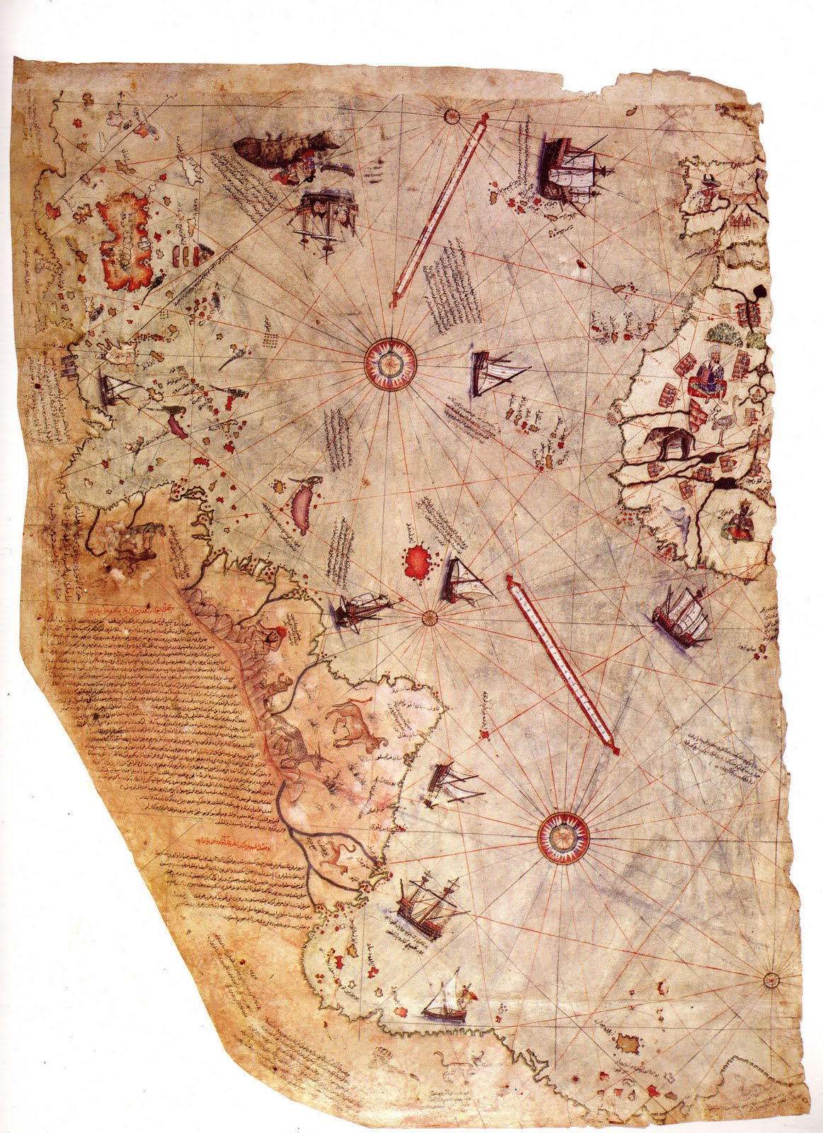 Pre Ice Age World Map.The Abc3s Of Miscellany Piri Reis Map And Pre Ice Age Travel