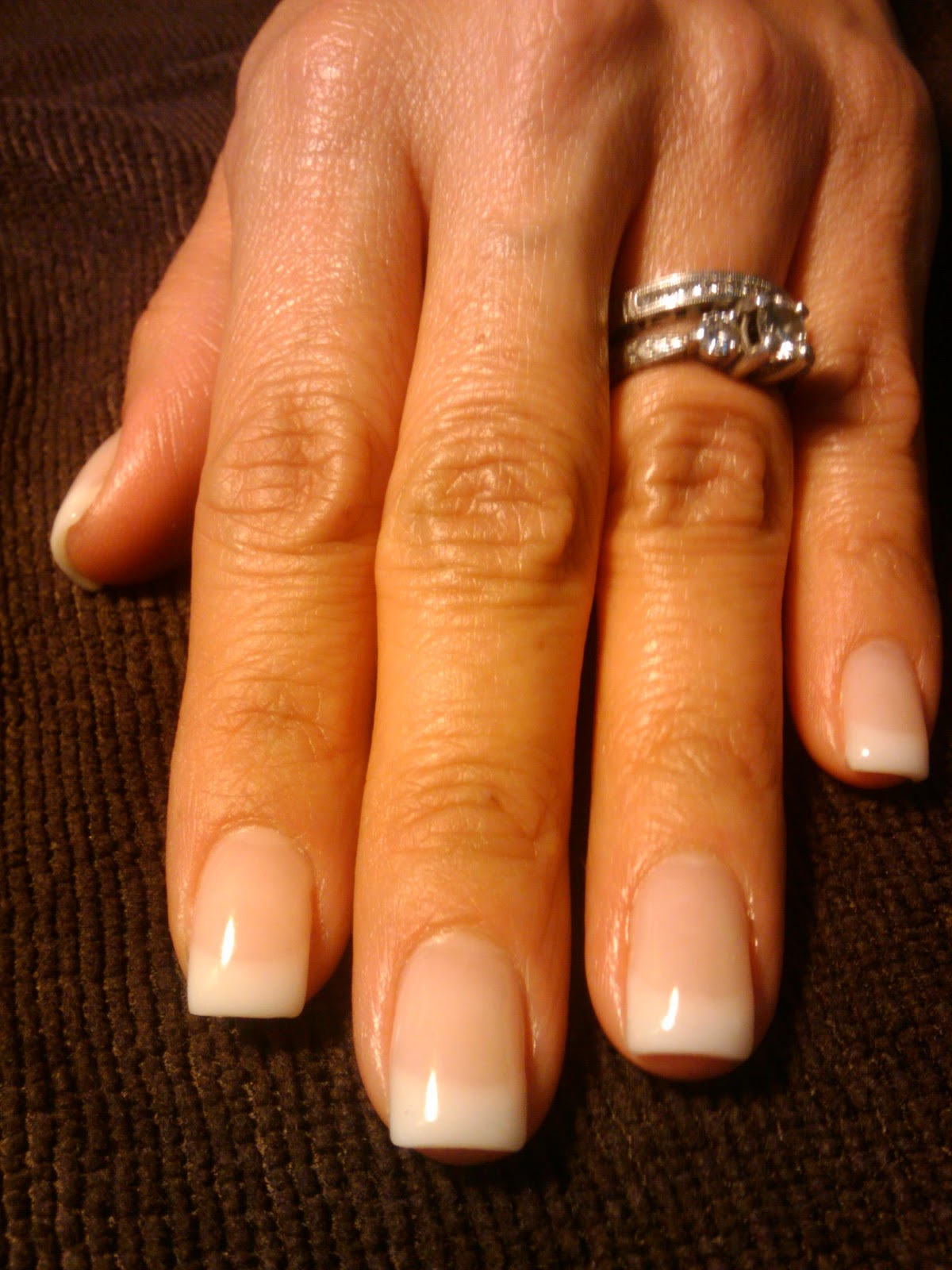 Let's Make Your Nails Pretty: Pink And White Gel Overlay