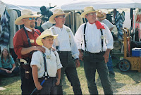 Cowboys at Mule Camp