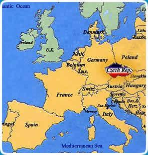 map of prague in europe World Map Europe Prague Plancha map of prague in europe