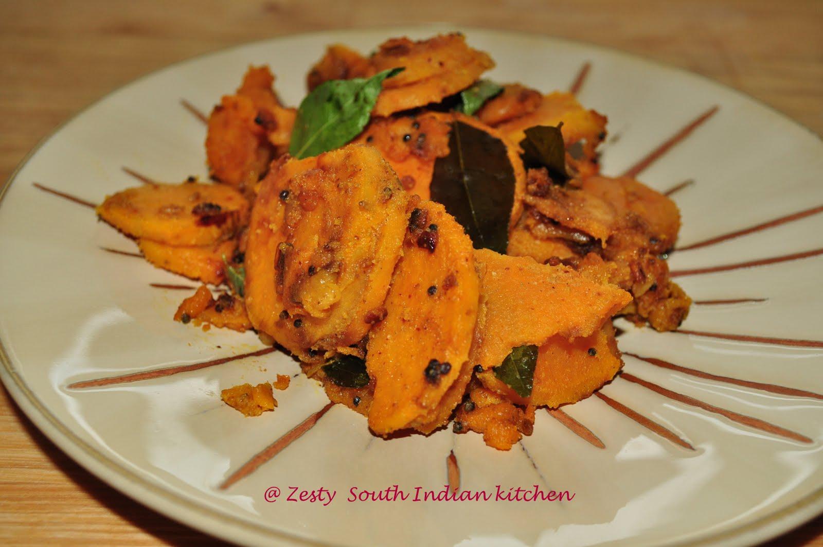 Sweet Potato Stir Fry Zesty South Indian Kitchen