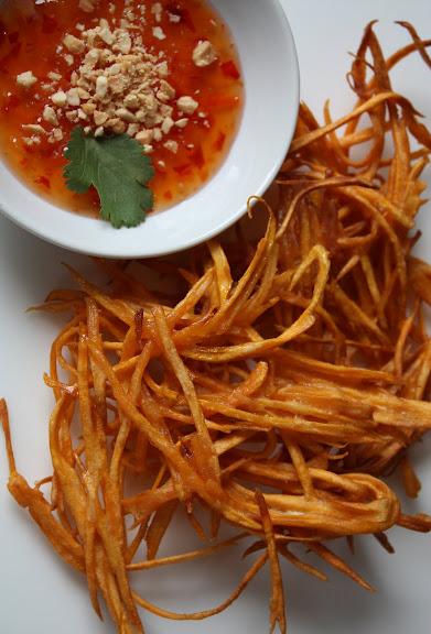 crunchy sweet potato recipe