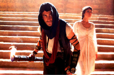 Jake Gyllenhaal as Dastan and Gemma Arterton as Princess Tamina - Prince of Persia The Sands of Time