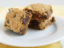 PB Chocolate Chip Bars