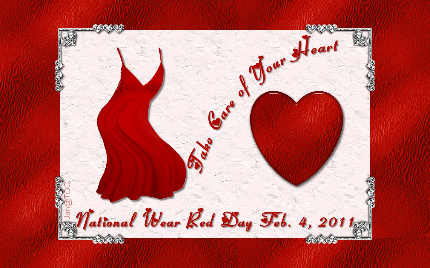 """THE AMERICAN HEART ASSOCIATION HOLDS 10TH ANNUAL """"WEAR RED ...  