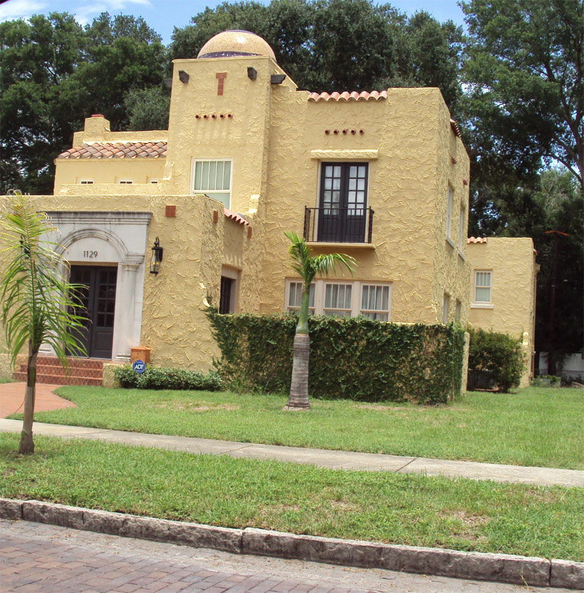 Spanish Colonial Architecture: The St. Pete Project: September 2010