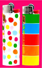 NEW AGATHA RUIZ DE LA PRADA BIC LIGHTERS FOR SALE!!