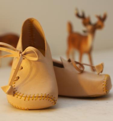 Baby Shoe Leather Pattern