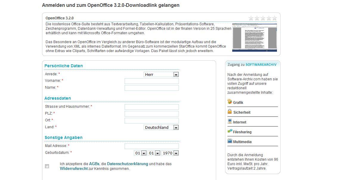 News Tipps Und Infos Gegen Abzocke Software Archivcom Neue