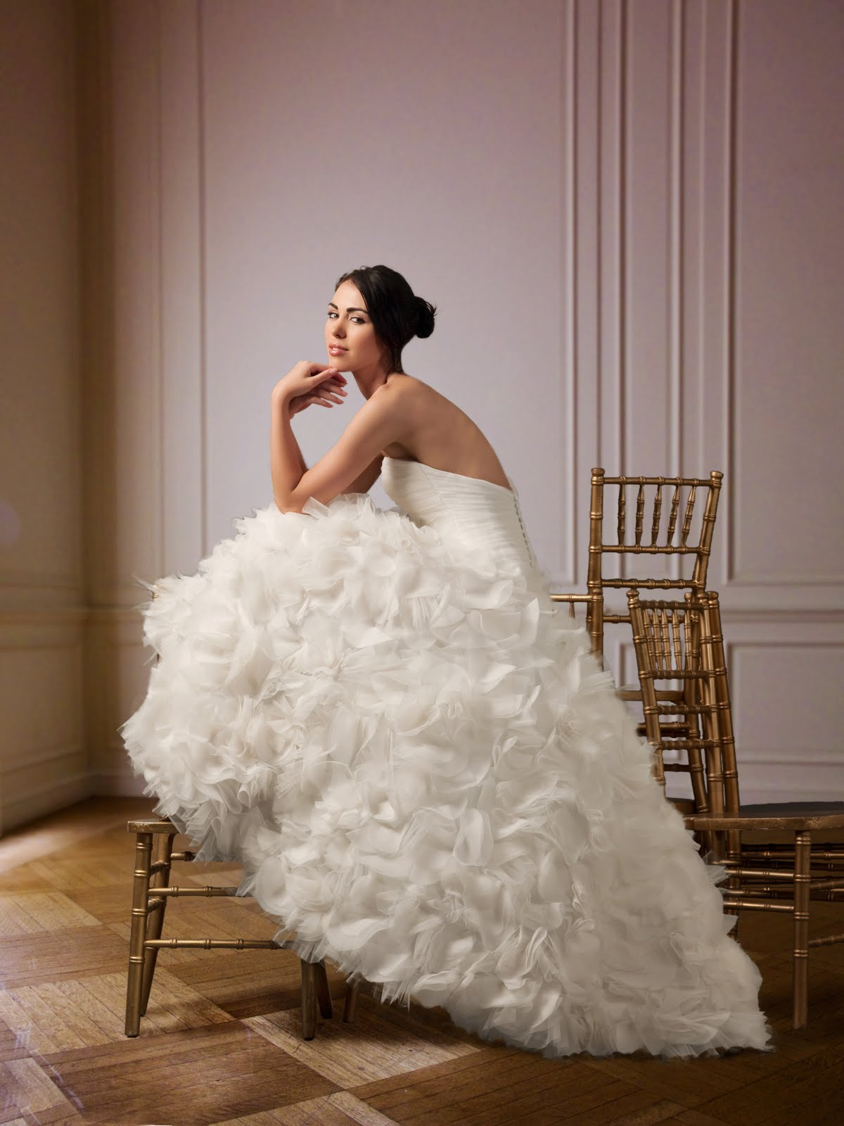 The gown gal american wedding dress designers is there a for Custom wedding dress designers