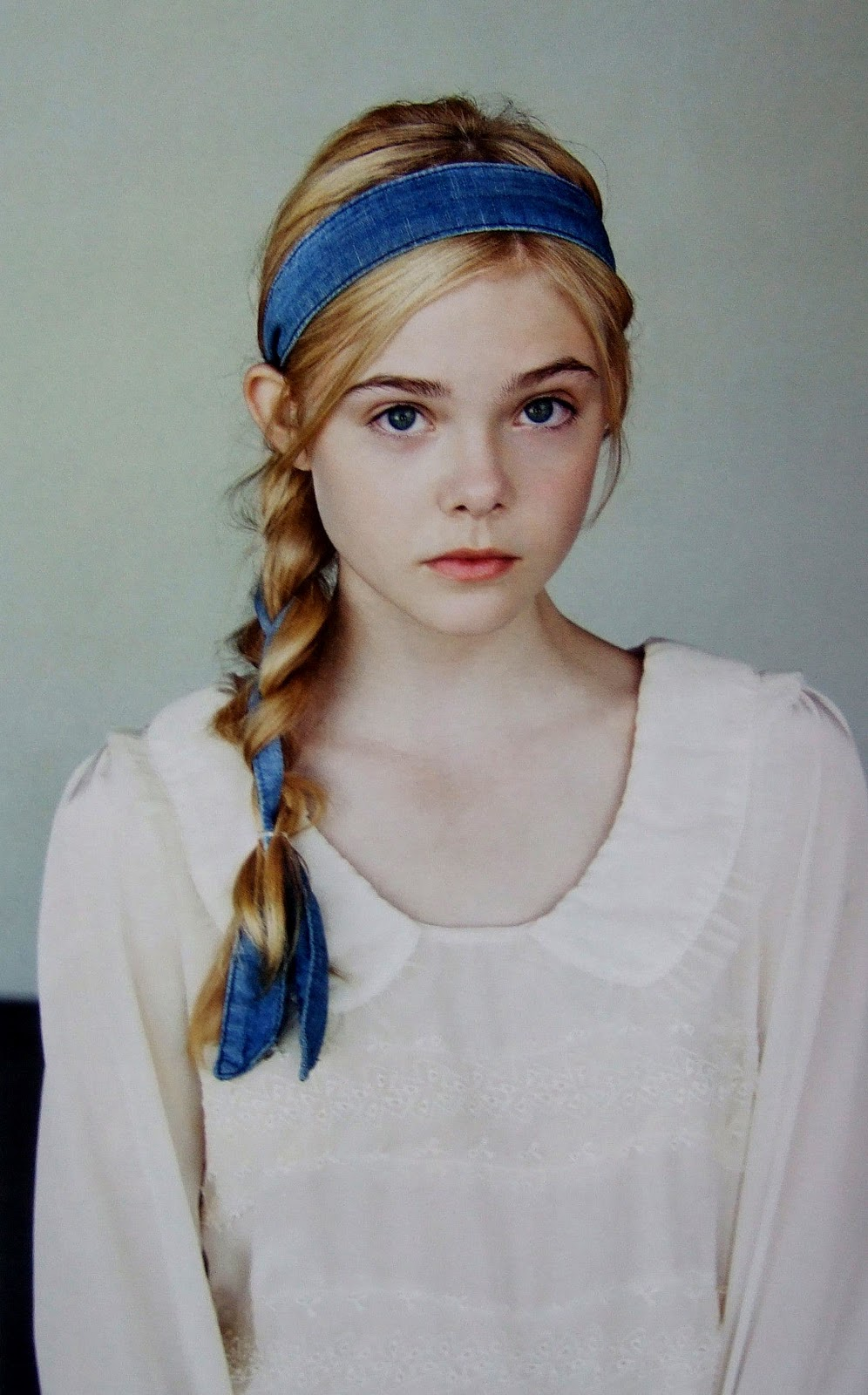 Elle Fanning Covers Fashion Magazine Says She Loves Being: Whitecrow: The New 'It Girl' : Elle Fanning