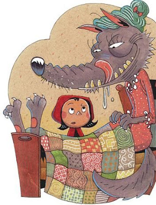 Convincing Little Red Riding Hood That The Wolf Is Grandma Great Republican Magic Trick