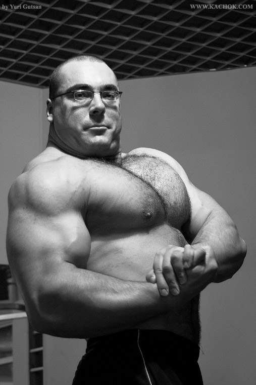 Strong Muscle Bear
