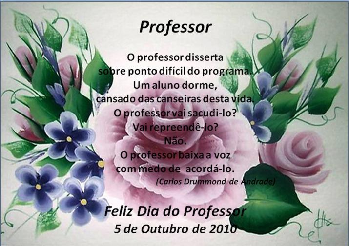 Biblioteca Comendador Ângelo Azevedo: Dia Mundial Do Professor