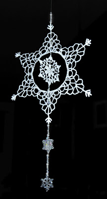 My Beaded Snowflake Ornament