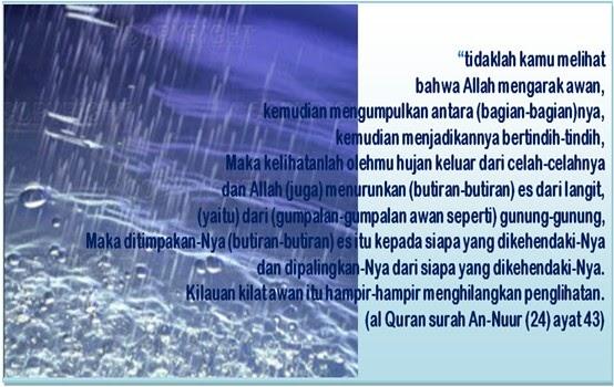محمد - DO'A itu Senjata Mukmin - الله: Doa ketika hujan ...