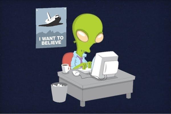 Planet Bizzle: The Alien Version of Fox Mulder