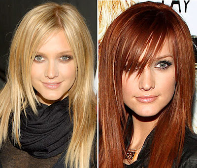 Beauty Care Makeup: Colored Hairstyles & Haircuts Picture Gallery