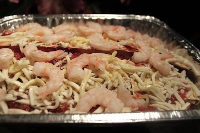 Lasagna  Shrimp  Florentine