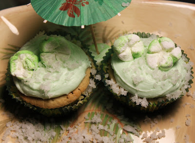 Tropical Coconut Lime Cupcakes