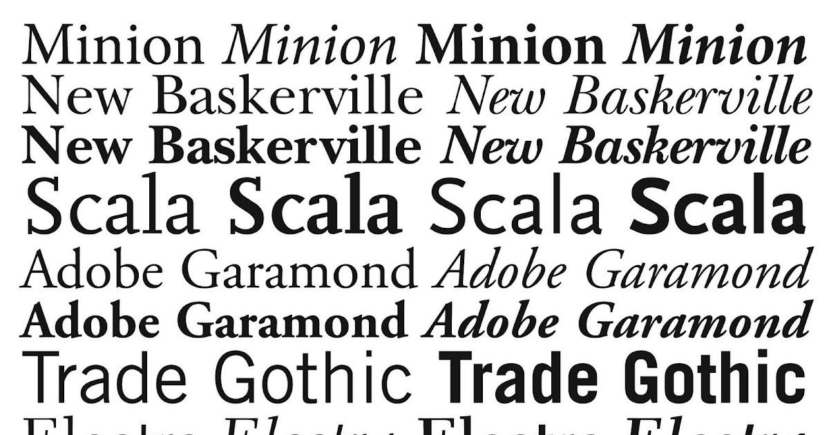Hot Metal to Mac Top Ten Typefaces used by Book Design Winners 2008 \u2026