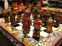 Xadrez incas contra espanhóis
