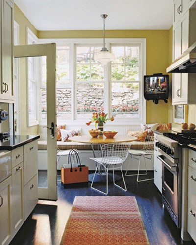 dining room banquette ideas | Love That: Banquette seating ideas