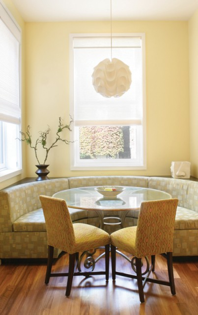 banquette dining room | Love That: Banquette seating ideas
