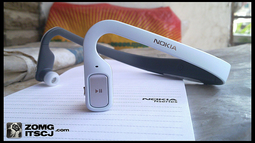 CELLPHONE NEWS AND GADGET REVIEW: Nokia BH-505 Bluetooth Headset
