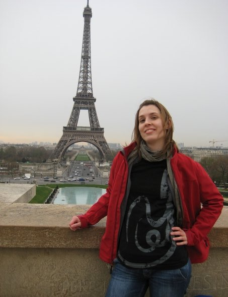 eiffel tower paris squid tshirt
